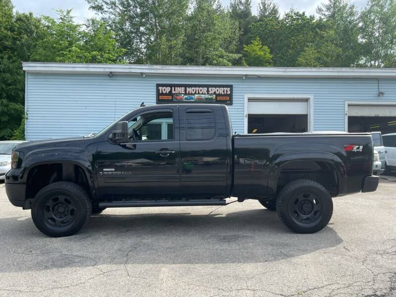 2008 GMC Sierra 2500HD for sale at Top Line Motorsports in Derry NH
