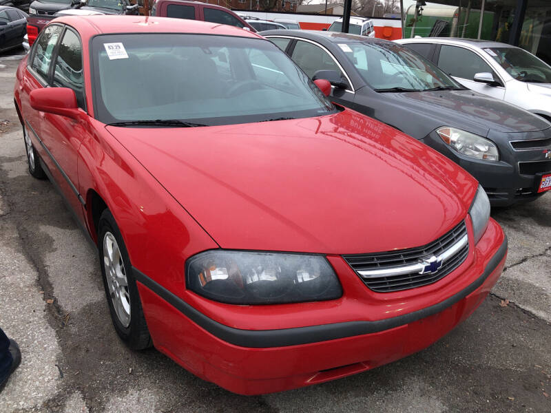 2004 Chevrolet Impala for sale at Sonny Gerber Auto Sales in Omaha NE