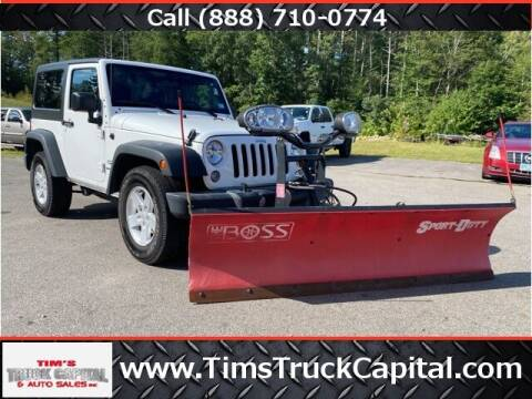 2017 Jeep Wrangler for sale at TTC AUTO OUTLET/TIM'S TRUCK CAPITAL & AUTO SALES INC ANNEX in Epsom NH