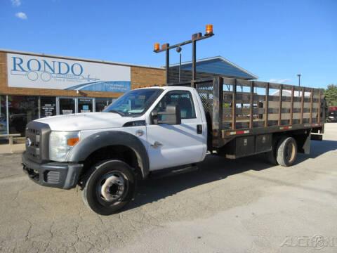 2011 Ford F-550 Super Duty for sale at Rondo Truck & Trailer in Sycamore IL
