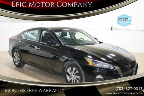 2019 Nissan Altima for sale at Epic Motor Company in Chantilly VA