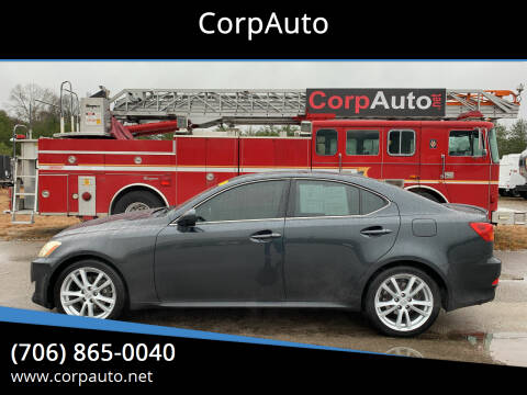 2007 Lexus IS 250 for sale at CorpAuto in Cleveland GA