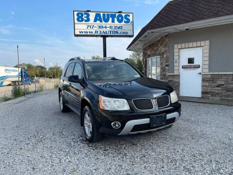 2007 Pontiac Torrent for sale at 83 Autos in York PA