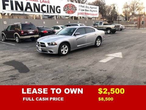 2014 Dodge Charger for sale at Auto Mart USA -Lease To Own in Kansas City MO
