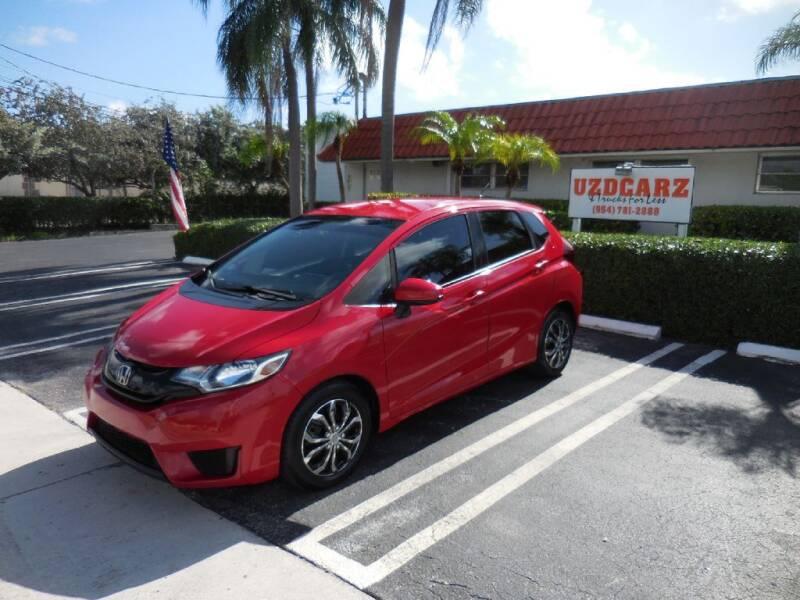 2016 Honda Fit for sale at Uzdcarz Inc. in Pompano Beach FL