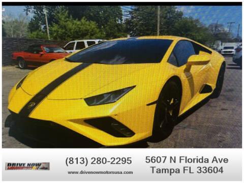 2021 Lamborghini Huracan for sale at Drive Now Motors USA in Tampa FL