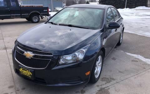 2014 Chevrolet Cruze for sale at KUEHN AUTO SALES in Stanton NE