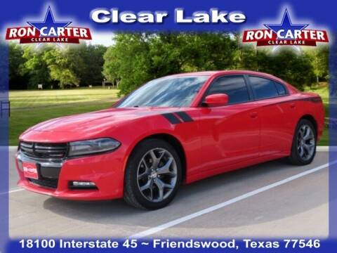 2016 Dodge Charger for sale at Ron Carter  Clear Lake Used Cars in Houston TX
