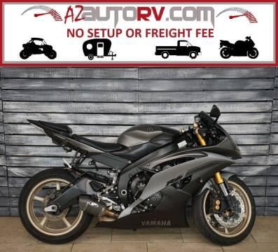 2014 Yamaha YZF-R6 for sale at AZautorv.com in Mesa AZ