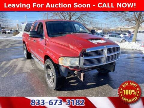 2004 Dodge Ram Pickup 2500 for sale at Glenbrook Dodge Chrysler Jeep Ram and Fiat in Fort Wayne IN