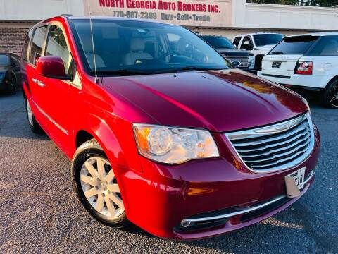 2016 Chrysler Town and Country for sale at North Georgia Auto Brokers in Snellville GA