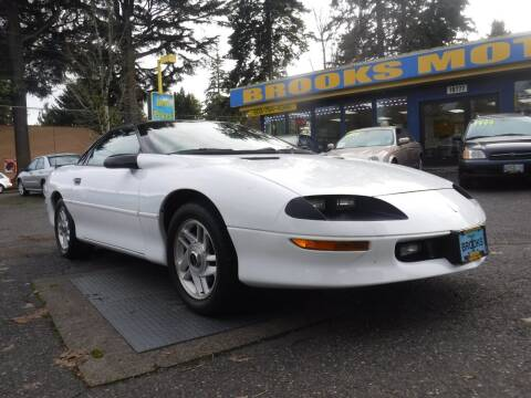 1995 Chevrolet Camaro for sale at Brooks Motor Company, Inc in Milwaukie OR