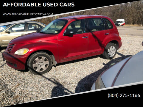 2006 Chrysler PT Cruiser for sale at AFFORDABLE USED CARS in Richmond VA