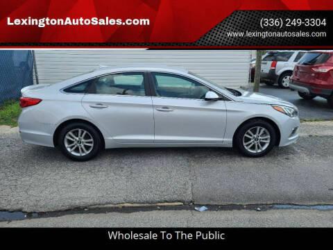 2017 Hyundai Sonata for sale at LexingtonAutoSales.com in Lexington NC