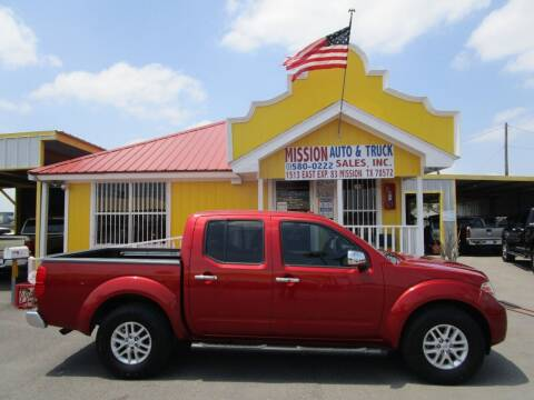 2015 Nissan Frontier for sale at Mission Auto & Truck Sales, Inc. in Mission TX