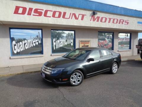 2010 Ford Fusion for sale at Discount Motors in Pueblo CO