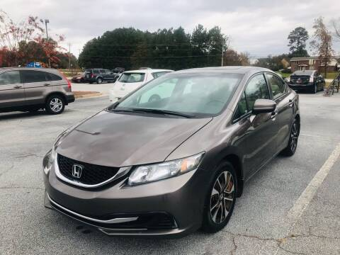 2015 Honda Civic for sale at Atlanta Motor Sales in Loganville GA