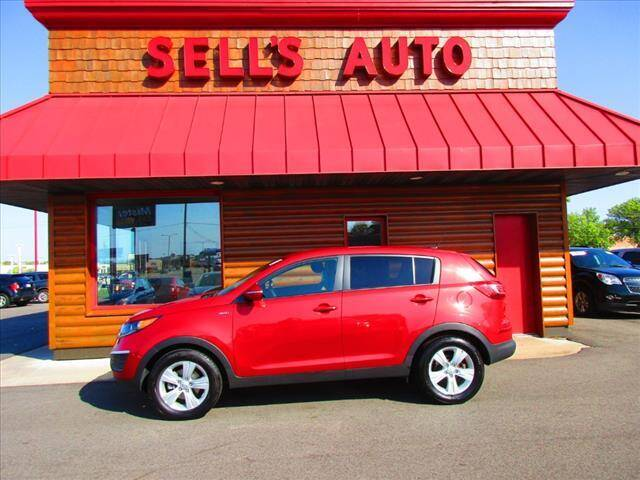 2013 Kia Sportage for sale at Sells Auto INC in Saint Cloud MN