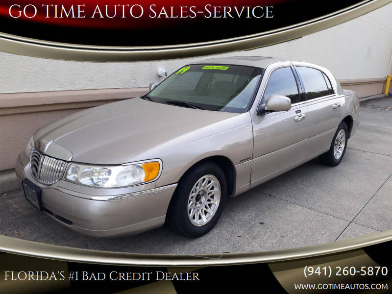 1999 Lincoln Town Car for sale at Go Time Automotive in Sarasota FL