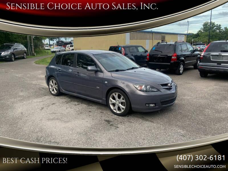 2009 Mazda MAZDA3 for sale at Sensible Choice Auto Sales, Inc. in Longwood FL