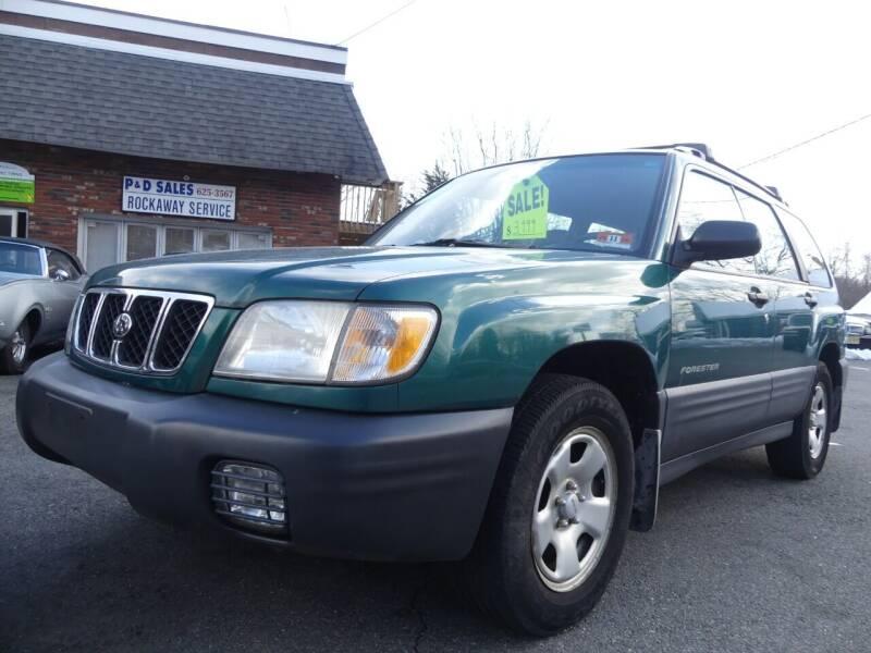 2001 Subaru Forester for sale at P&D Sales in Rockaway NJ