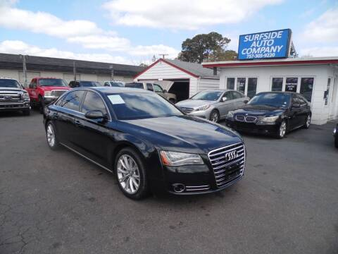 2011 Audi A8 L for sale at Surfside Auto Company in Norfolk VA