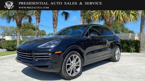 2019 Porsche Cayenne for sale at Presidential Auto  Sales & Service in Delray Beach FL
