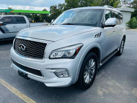2016 Infiniti QX80 for sale at BRYANT AUTO SALES in Bryant AR