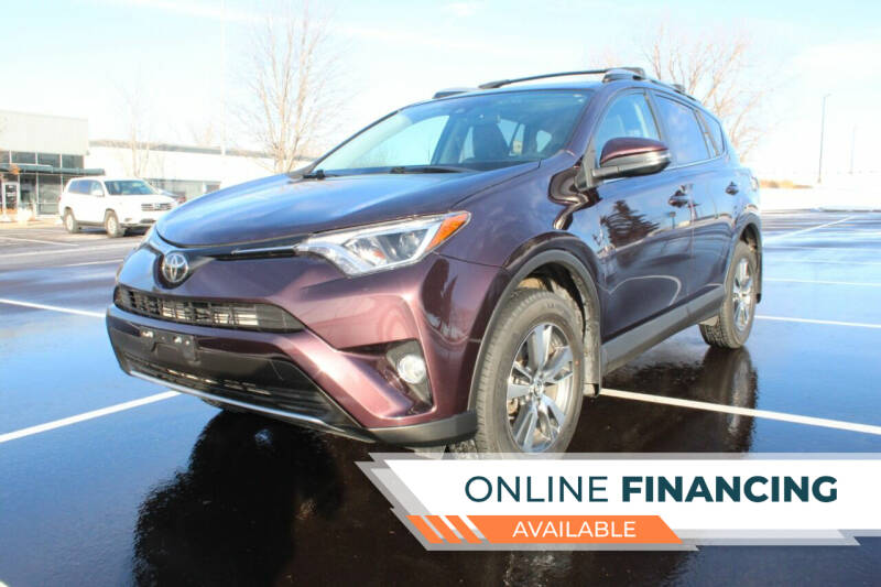 2017 Toyota RAV4 for sale at K & L Auto Sales in Saint Paul MN