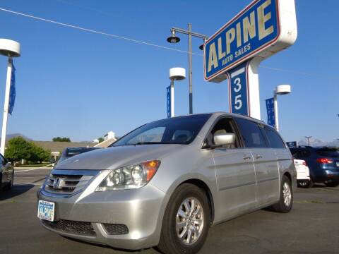 2008 Honda Odyssey for sale at Alpine Auto Sales in Salt Lake City UT