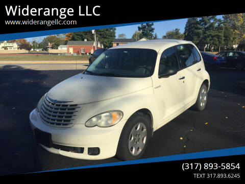 2006 Chrysler PT Cruiser for sale at Widerange LLC in Greenwood IN