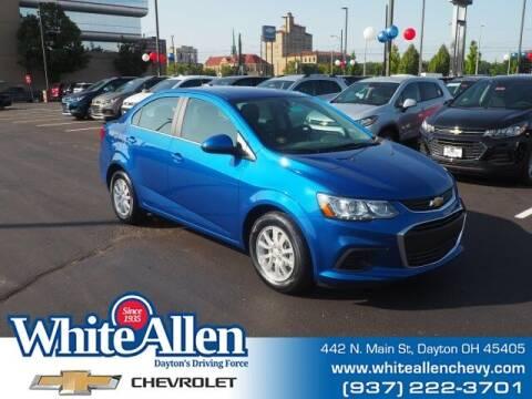 2020 Chevrolet Sonic for sale at WHITE-ALLEN CHEVROLET in Dayton OH