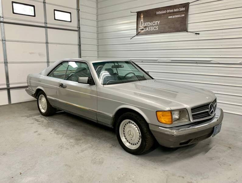 1983 Mercedes-Benz 380-Class for sale at Queen City Classics in West Chester OH