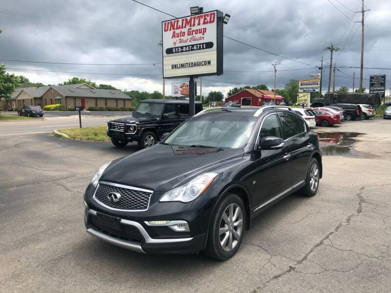 2016 Infiniti QX50 for sale at Unlimited Auto Group in West Chester OH