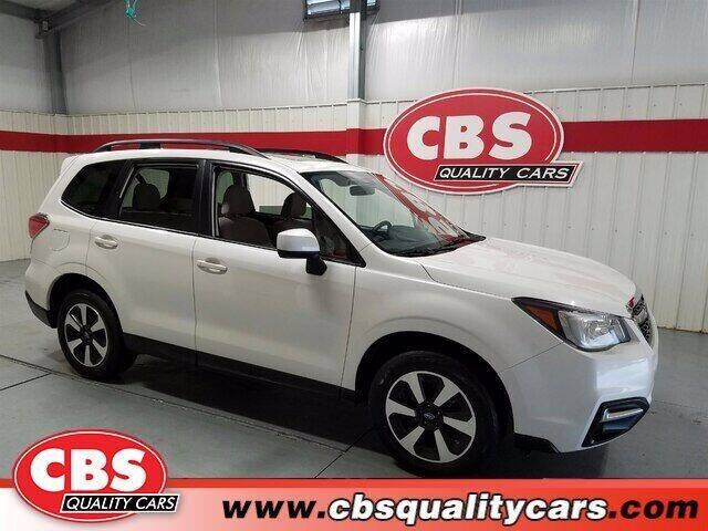 2018 Subaru Forester for sale at CBS Quality Cars in Durham NC