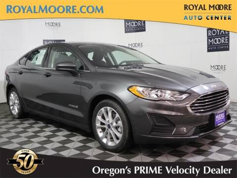 2019 Ford Fusion Hybrid for sale at Royal Moore Custom Finance in Hillsboro OR