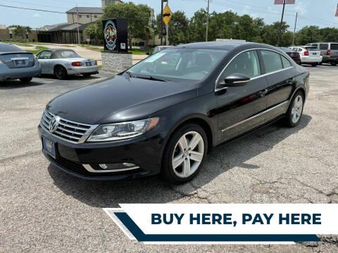 2013 Volkswagen CC for sale at H3 MOTORS in Dickinson TX