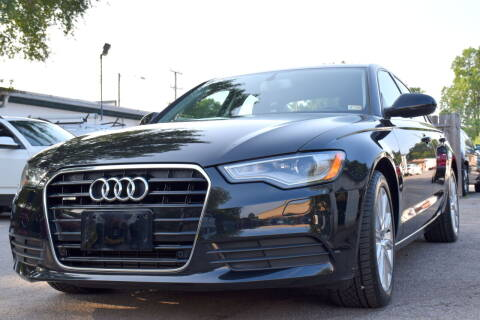 2013 Audi A6 for sale at Wheel Deal Auto Sales LLC in Norfolk VA