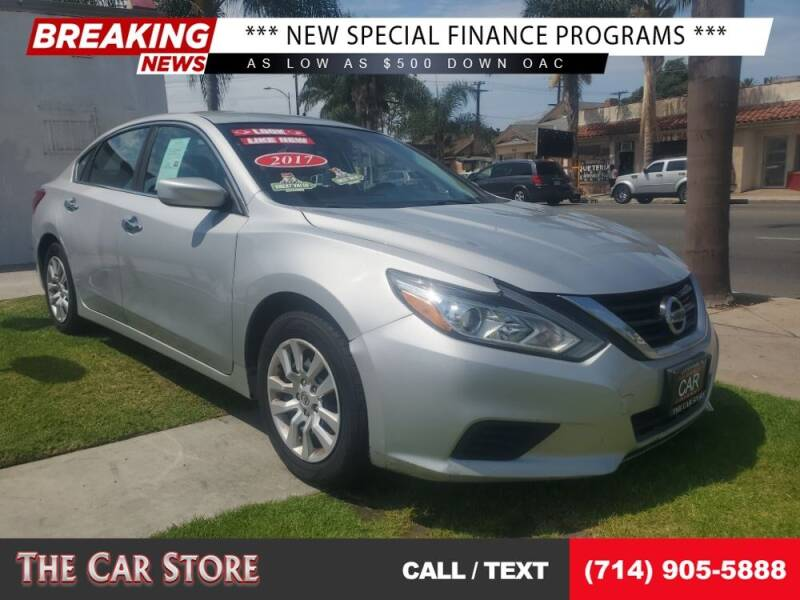 2017 Nissan Altima for sale at The Car Store in Santa Ana CA