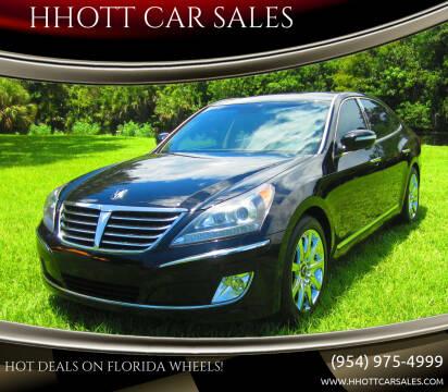 2012 Hyundai Equus for sale at HHOTT CAR SALES in Deerfield Beach FL