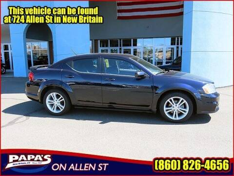 2012 Dodge Avenger for sale at Papas Chrysler Dodge Jeep Ram in New Britain CT