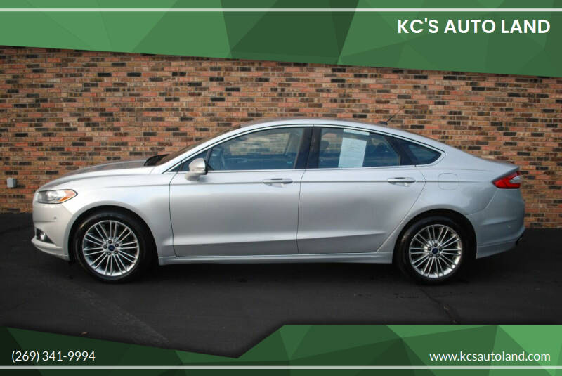 2014 Ford Fusion for sale at KC'S Auto Land in Kalamazoo MI