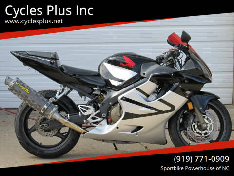 2003 Honda CBR 600F4i for sale at Cycles Plus Inc in Garner NC
