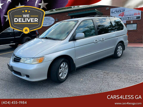 2004 Honda Odyssey for sale at Cars4Less GA in Alpharetta GA
