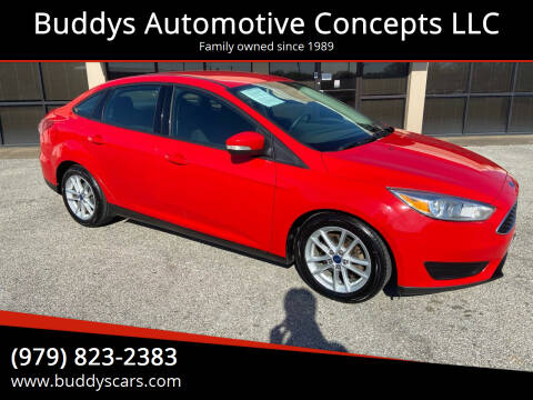 2015 Ford Focus for sale at Buddys Automotive Concepts LLC in Bryan TX