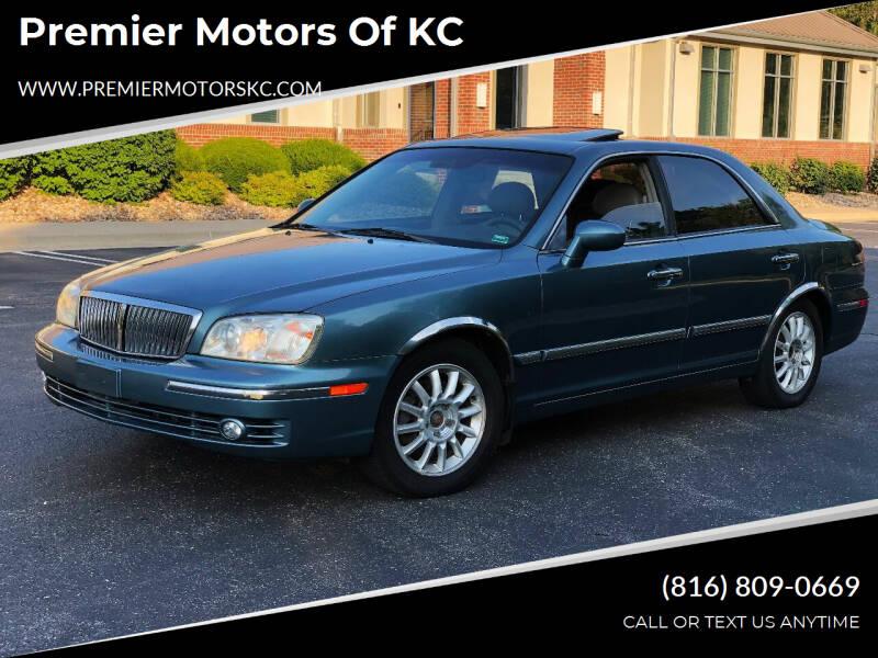 2005 Hyundai XG350 for sale at Premier Motors of KC in Kansas City MO