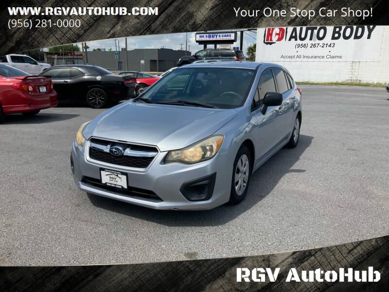 2014 Subaru Impreza for sale at RGV AutoHub in Harlingen TX