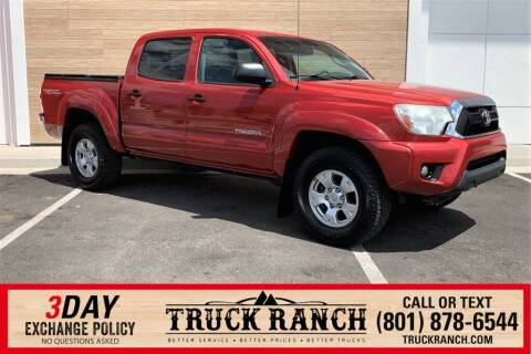 2013 Toyota Tacoma for sale at Truck Ranch in American Fork UT