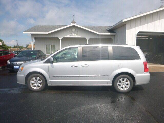 2011 Chrysler Town and Country for sale at JIM WOESTE AUTO SALES & SVC in Long Prairie MN