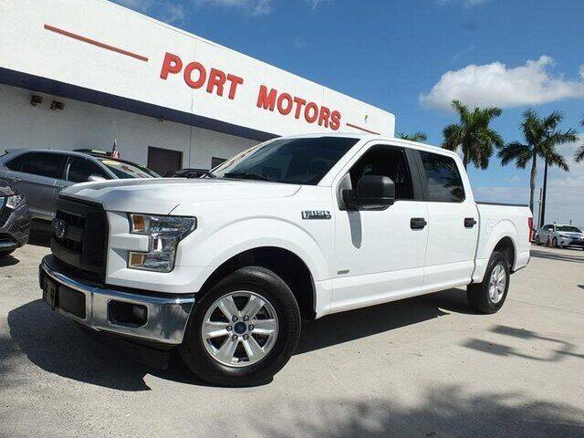 2017 Ford F-150 for sale at Automotive Credit Union Services in West Palm Beach FL